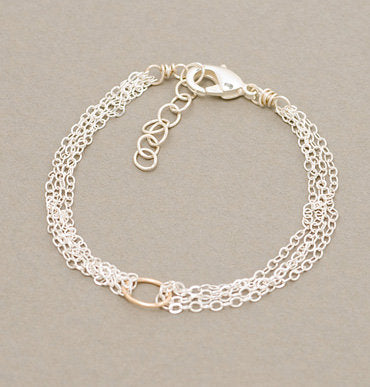 Armitage Simple Cable and Link Bracelet