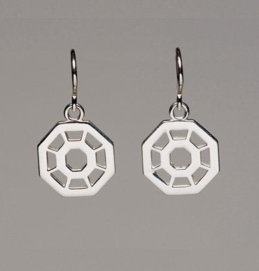 Division Small Octagon Earrings