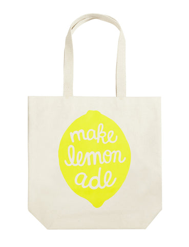 Kinzie Small Lemon Tote
