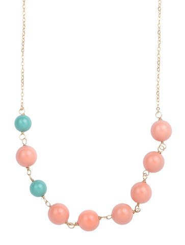 Jackson Bead Strand Necklace