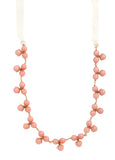 Jackson Peachy Bauble Necklace
