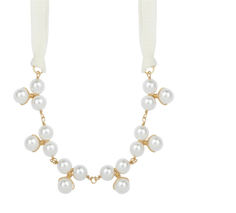 Jackson Mini Pearl Bauble Necklace