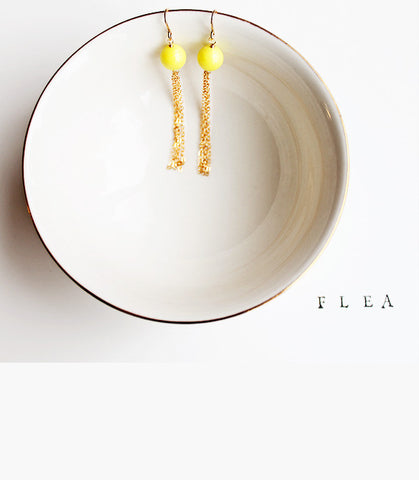 FLEA Neon Earrings