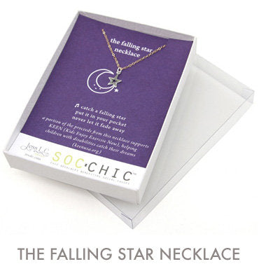 The Falling Star Necklace