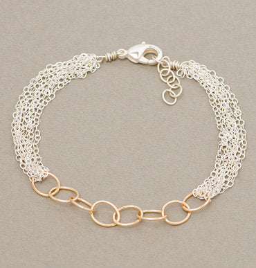 Armitage Thick Cable Bracelet with Links