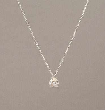 Madison Triple Crystal Necklace