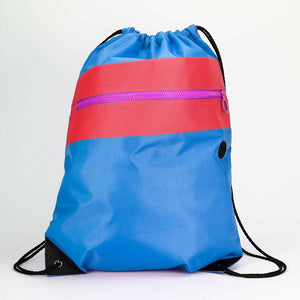 3. The Tri-Color Cool Wholesale Drawstring Bags