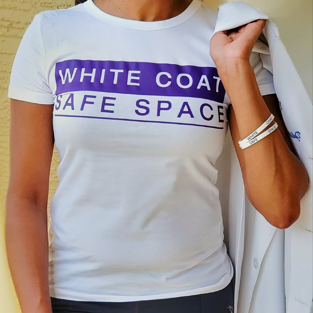 White Coat Safe Space Tee