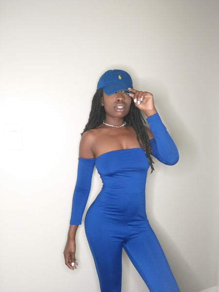 Tonya off the shoulder jumpsuit