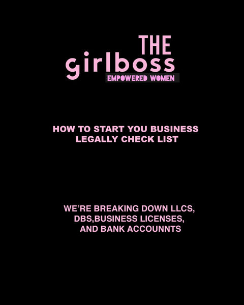 The Small Business Legal Checklist (FREEBIE)