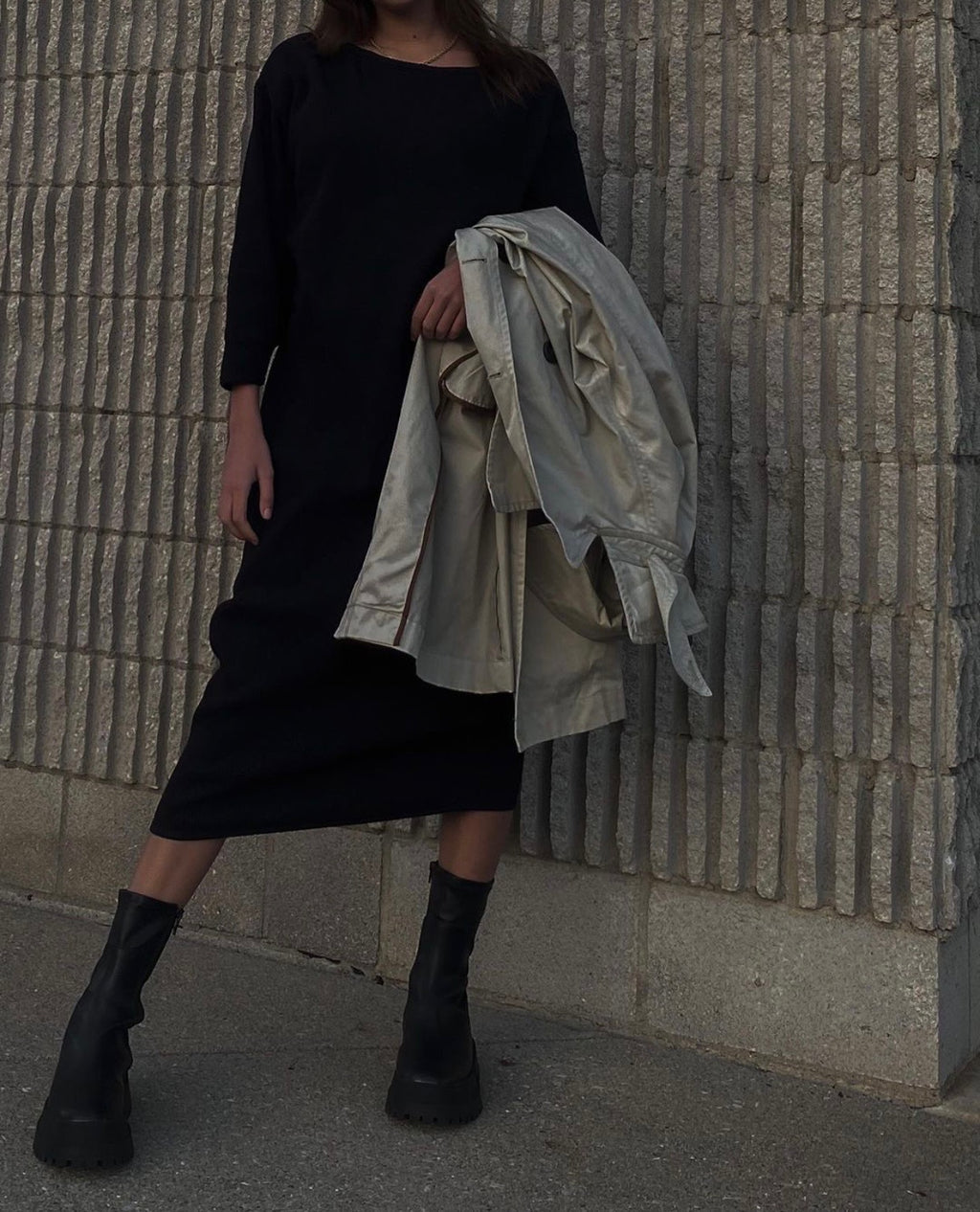 Luna Dress in New Moon - Taiyo.us