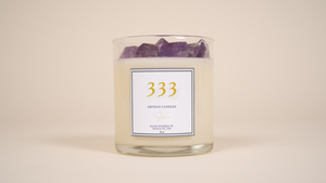 333 - Angel Number Manifestation Candle