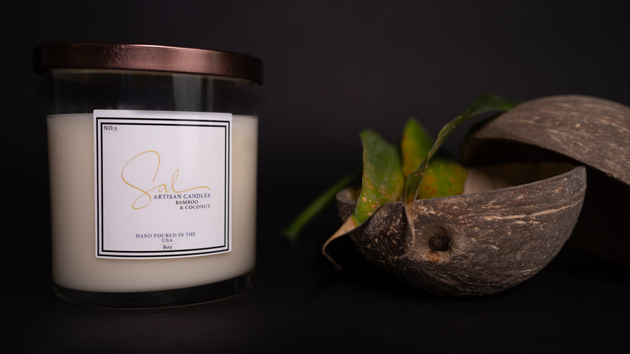 Bamboo & Coconut - Artisan Candles by Sal