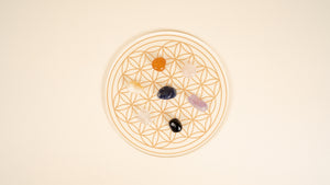 Acrylic Flower of Life Grid (Large)