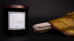 Amber & Driftwood - Artisan Candles by Sal