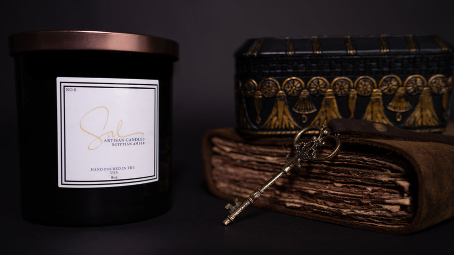Egyptian Amber - Artisan Candles by Sal