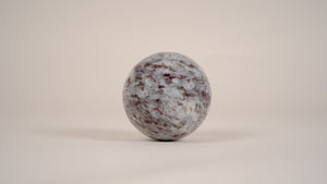 Pink Tourmaline Crystal Sphere