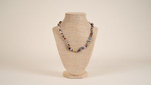 Mixed Natural Gemstone Necklace