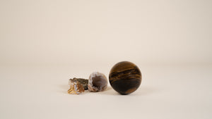 Tigers Eye - Crystal Sphere