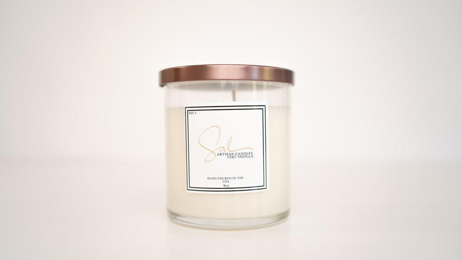 Very Vanilla - Artisan Candles by Sal
