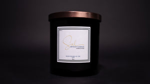 Amber Noir - Artisan Candles by Sal