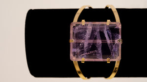 Polished Amethyst Bracelet