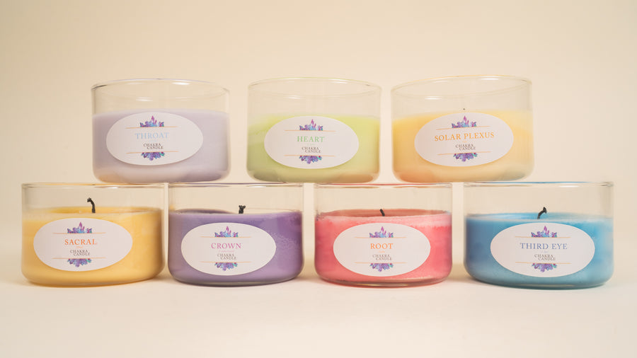 Complete Set - Chakra Candles by Sal