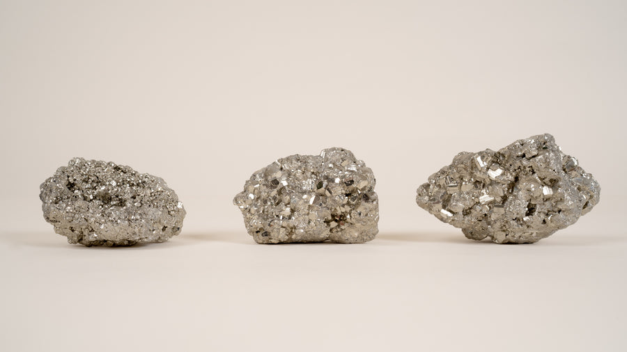 Palm Size Pyrite Cluster