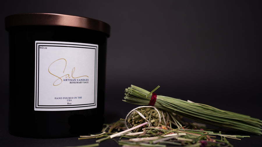 Rosemary Sage - Artisan Candles by Sal
