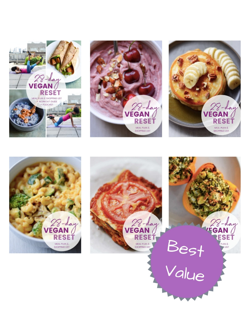 Ultimate Bundle (6 months of vegan meal plans!)