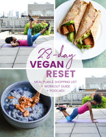 28-Day Vegan Reset: Meal Plan, Workout Guide & Podcast