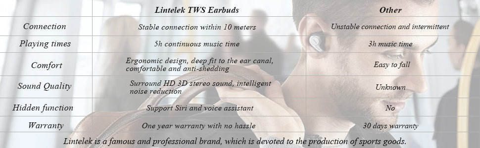 wireless earbuds comparison