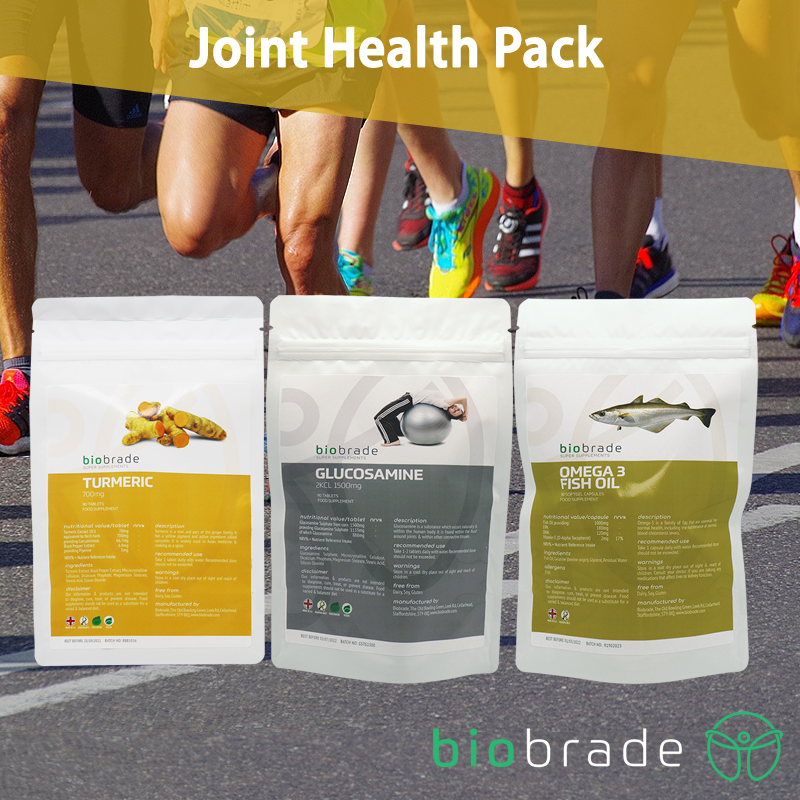 Biobrade Joint Health Pack is Perfect for All Types of Runners