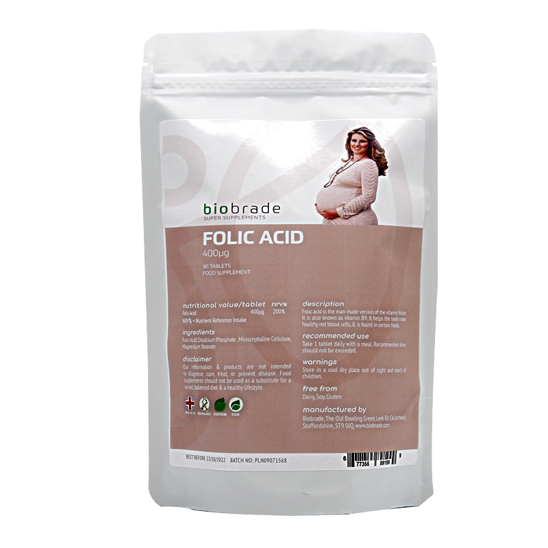 Biobrade Folic Acid