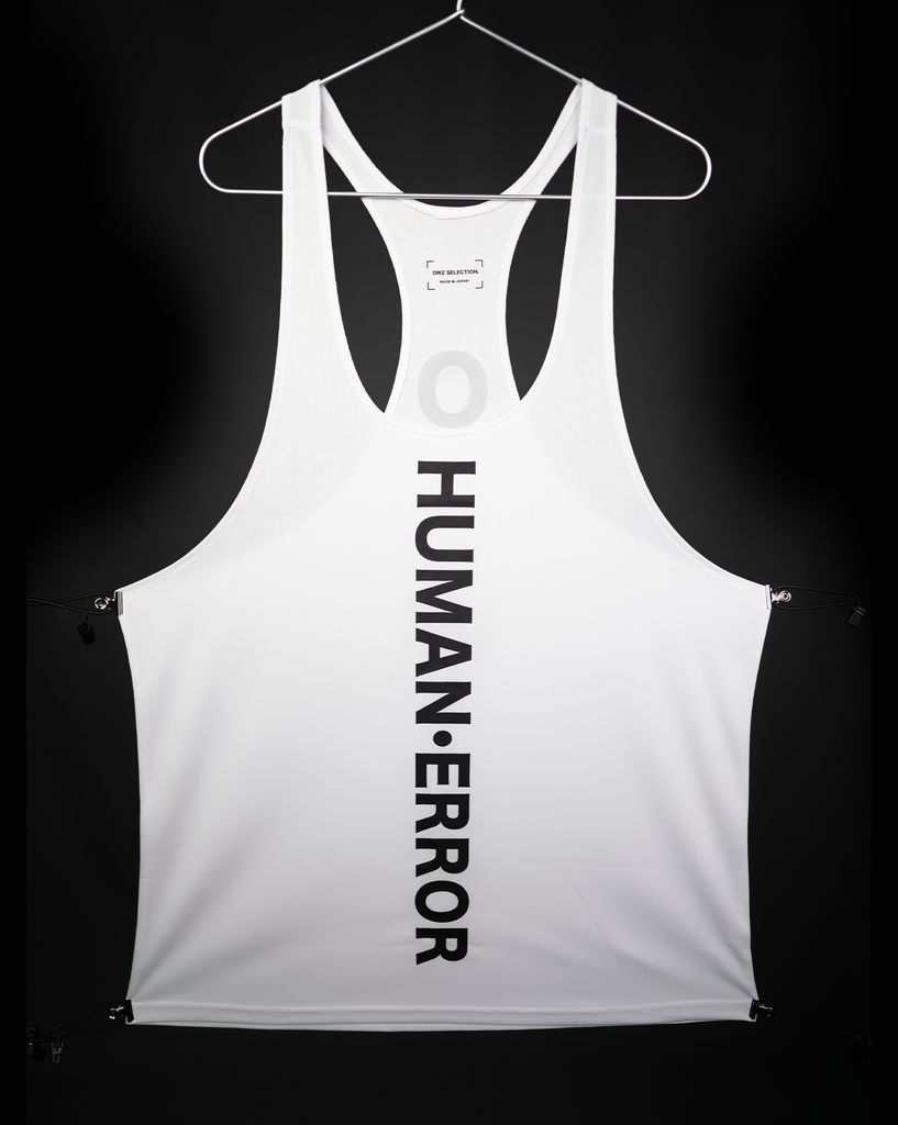 "X_TANK ""WHITE【THE HUMAN・ERROR 】"