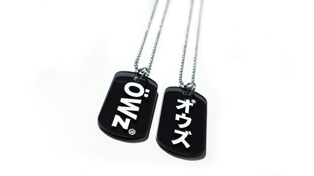 THE LIMITED OWZ DOG TAG / オウズ