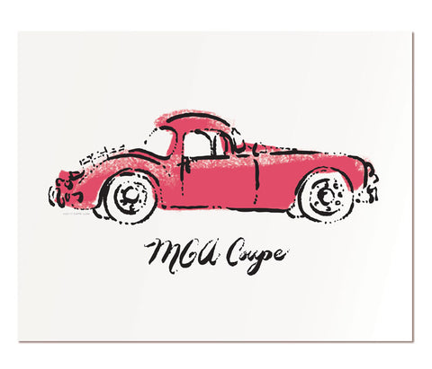 "MGA Coupe - 11x14"" art print"
