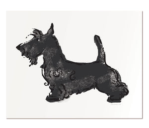 "Scottish Terrier - 8x10"" art print"
