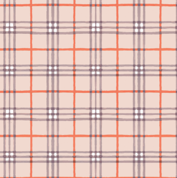 Tartan plaid gift wrap by Capri Luna