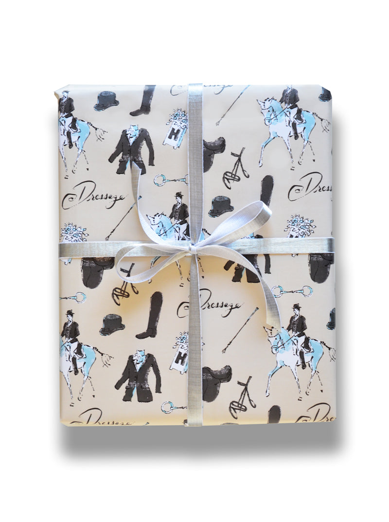 Dressage - gift wrap