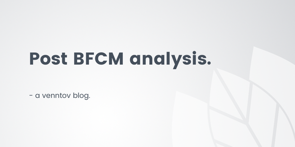 How to make the most of your post-BFCM store data