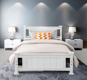 DREAMO Timber Bed Frame