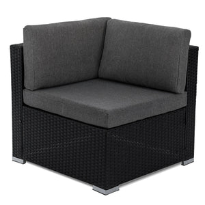 Outdoor Modular Lounge Sofa Bondi - Black
