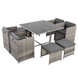 DREAMO Outdoor Dining Set Side