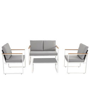DREAMO 4PC Outdoor Set Front