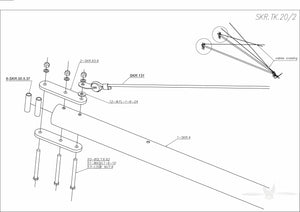 SKR.TK.20 Lower fuselage bars