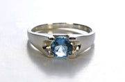 Tapered Aquamarine Ring