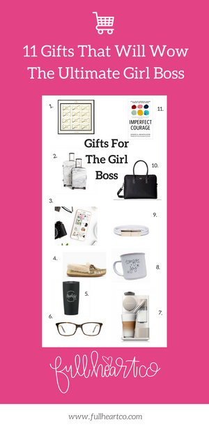 11 Gifts That Will Wow The Ultimate Girl Boss