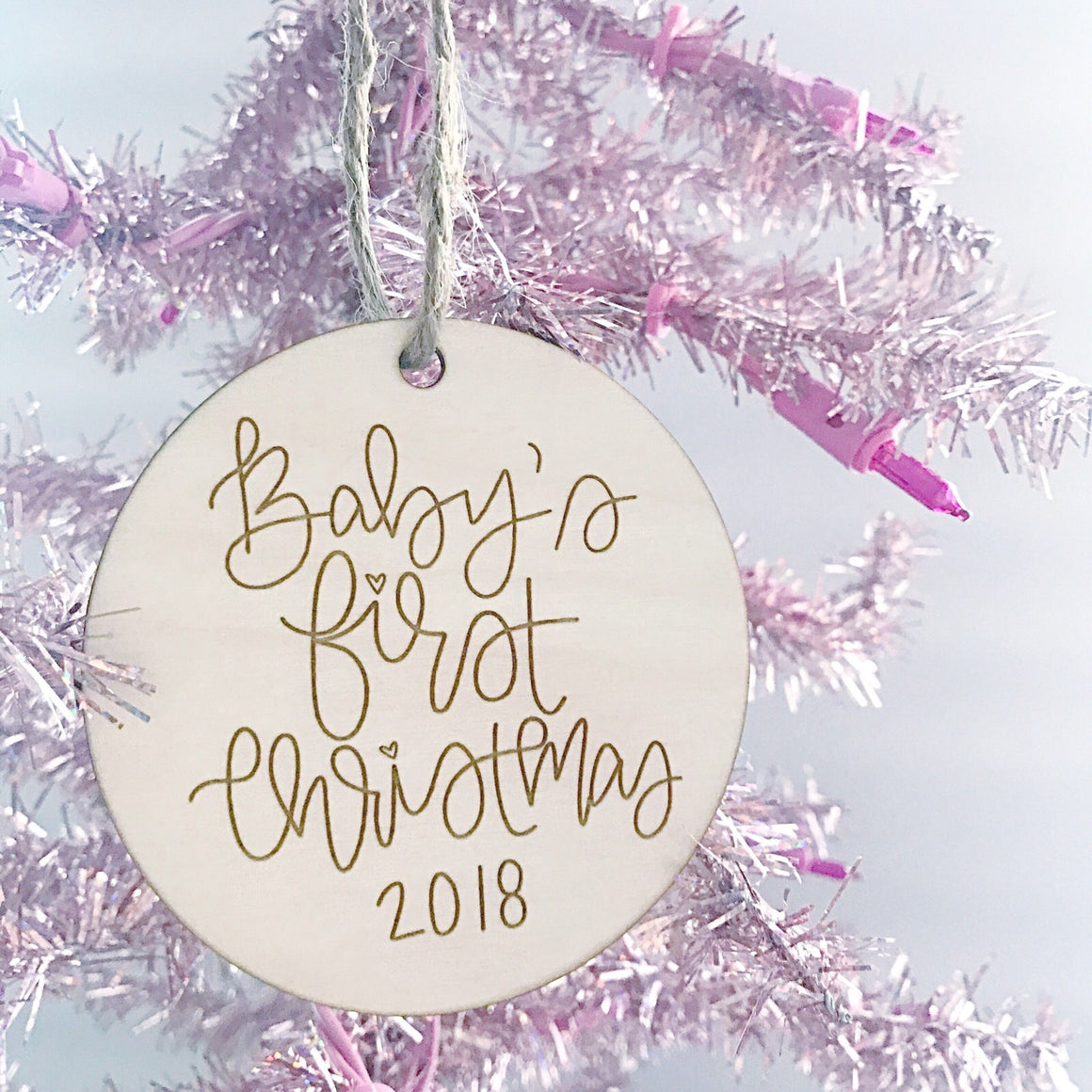 Baby's First Christmas 2018 Ornament