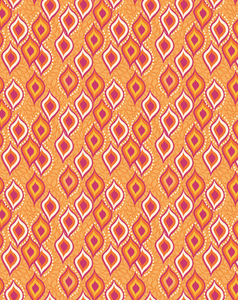 BINDI DANCE ETHNIC DIGITAL PRINT-sunset